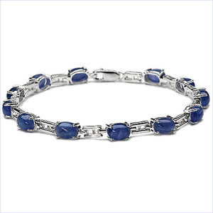 Design 16850: blue tanzanite bracelets