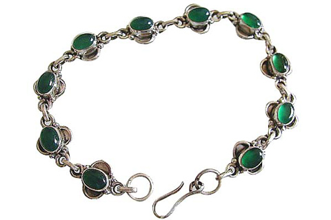Design 473: green onyx bracelets