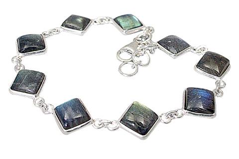 Design 510: gray,white labradorite bracelets