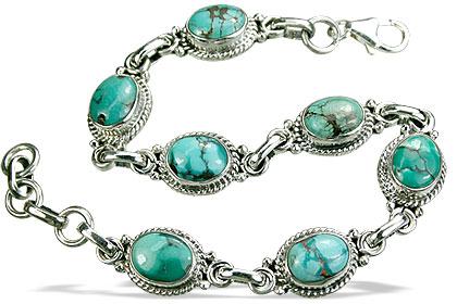 Design 534: blue turquoise american-southwest bracelets