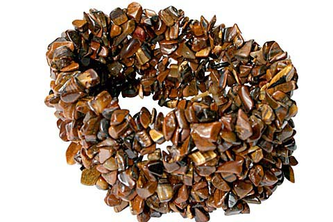 Design 5491: brown tiger eye american-southwest bracelets