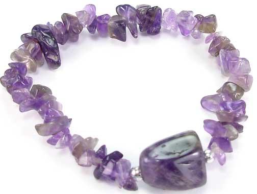 Design 5520: purple amethyst american-southwest bracelets