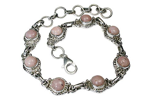 Design 8102: pink pink opal engagement, wedding bracelets