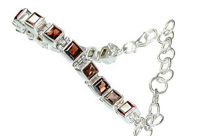 Design 8105: red garnet bracelets