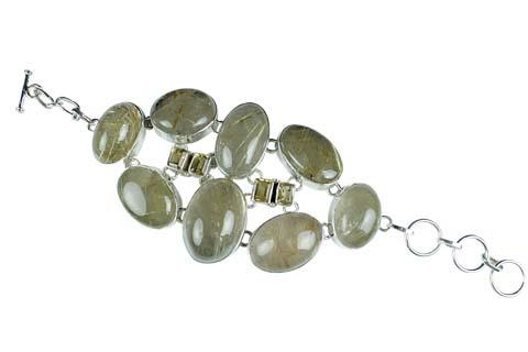 Design 9011: green rotile bracelets