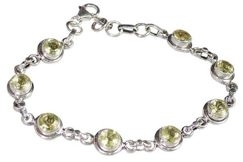 Design 9140: yellow lemon quartz bracelets