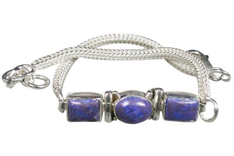 Design 9143: blue lapis lazuli bracelets