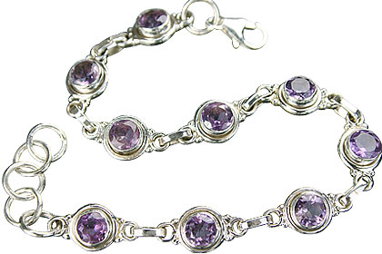 Design 9152: purple amethyst bracelets