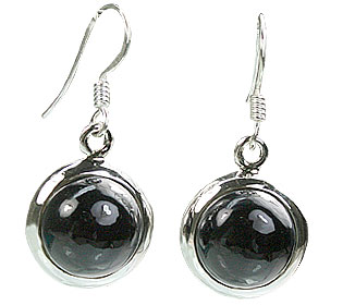 Design 7919: black onyx contemporary earrings