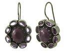 Design 18124: red ruby earrings