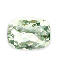 Design 15304: green amethyst rectangular gems