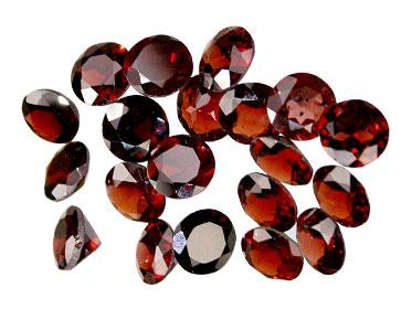 Design 16303: red bulk lots round gems