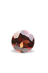 Design 16327: red garnet round gems