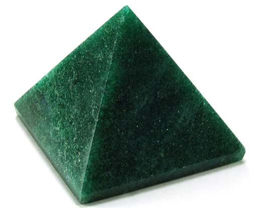 Design 5132: green aventurine pyramid healing