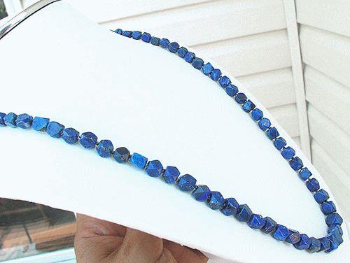 Design 1135: blue lapis lazuli necklaces