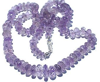 Design 1136: purple amethyst necklaces
