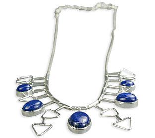 Design 14373: blue lapis lazuli necklaces