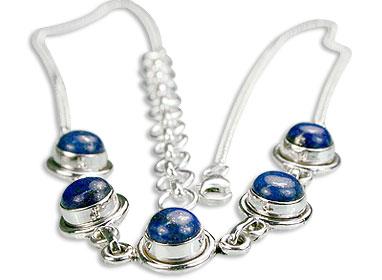Design 14406: blue lapis lazuli necklaces