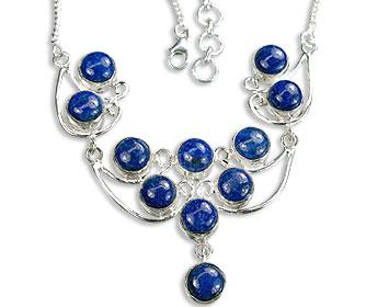 Design 14457: blue lapis lazuli necklaces