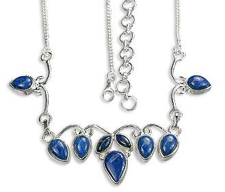 Design 14461: blue lapis lazuli necklaces