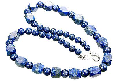 Design 15555: blue lapis lazuli necklaces