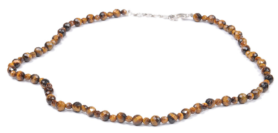 Design 18160: brown tiger eye necklaces