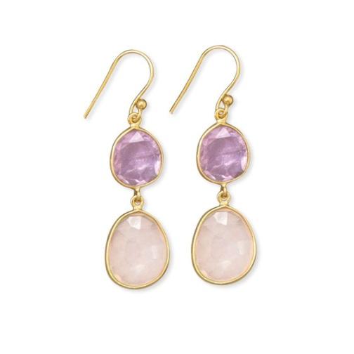 Design 21722: pink rose quartz necklaces