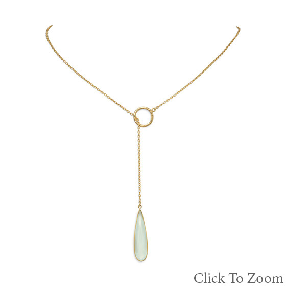 Design 21728: green chalcedony brides-maids necklaces