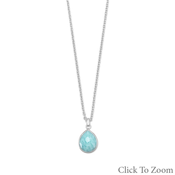 Design 22015: blue chalcedony brides-maids necklaces
