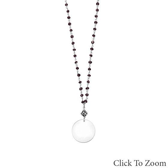 Design 22016: multi-color chalcedony necklaces