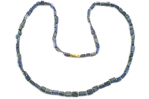 Design 280: blue lapis lazuli mens necklaces