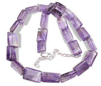 Design 5077: purple amethyst contemporary necklaces