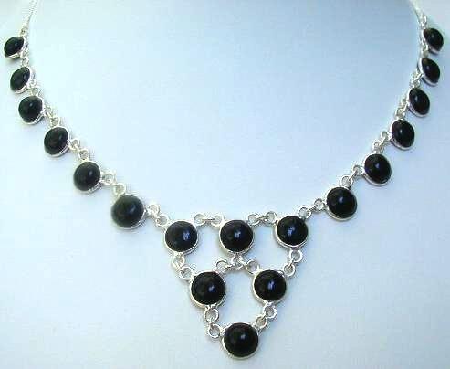 Design 540: black onyx necklaces