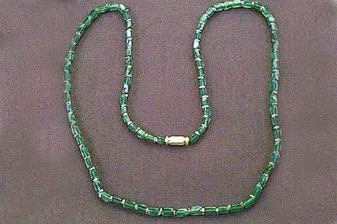 Design 64: green aventurine necklaces
