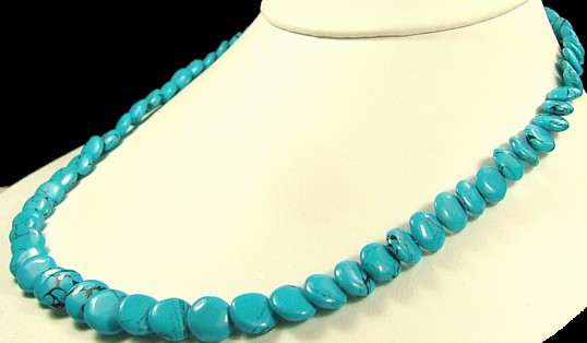 Design 700: blue turquoise american-southwest necklaces