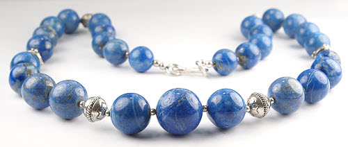 Design 71: blue sodalite ethnic necklaces