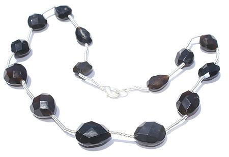 Design 7369: black onyx necklaces