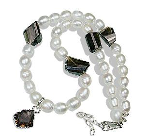 Design 7802: multi-color multi-stone necklaces