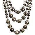 Design 14079: brown smoky quartz necklaces