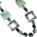 Design 15132: multi-color jasper contemporary necklaces
