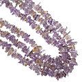 Design 16352: purple amethyst multistrand necklaces