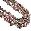 Design 16363: purple rhodolite multistrand necklaces