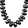 Design 7570: black black spinel contemporary necklaces