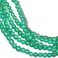 Design 9085: green onyx contemporary, engagement, multistrand necklaces