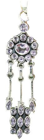 Design 1064: purple amethyst drop pendants