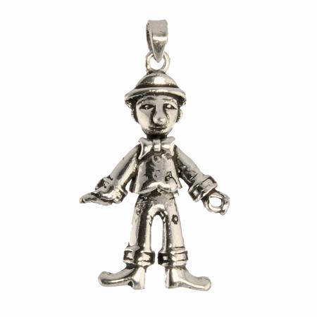Design 1169: white silver charms pendants