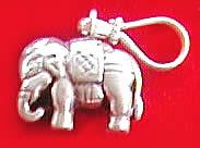Design 1182: gray silver charms pendants