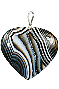 Design 1328: black,multi-color black onyx heart pendants