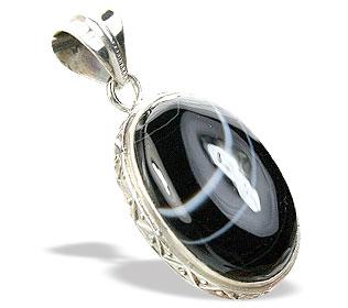 Design 15453: black onyx pendants