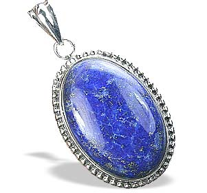 Design 15884: blue lapis lazuli chunky pendants